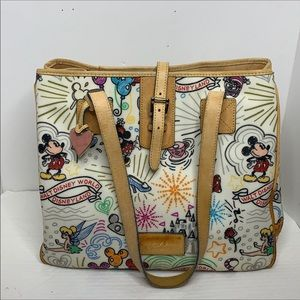 Dooney and Bourke Disney parks large tote
